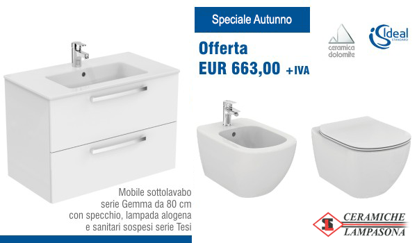 Offerta speciale: Mobile sottolavabo a € 663,00 + iva